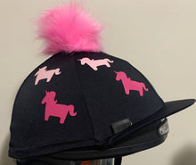 "Load image into Gallery viewer, ""Glenda the Unicorn"" Hat Cover"