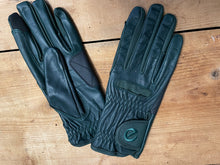 Load image into Gallery viewer, Gloves - eQuest Grip Pro Leather - Dark Green