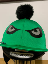 "Load image into Gallery viewer, ""Looky"" Hat Cover in Green"