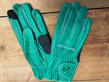 Load image into Gallery viewer, Gloves - eQuest Grip Pro Leather - Jade Green