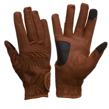 Load image into Gallery viewer, Gloves - eQuest Grip Pro Leather - Tan