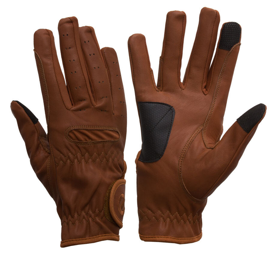 Gloves - eQuest Grip Pro Leather - Tan