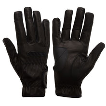 Load image into Gallery viewer, Gloves - eQuest Grip Pro Leather - Black