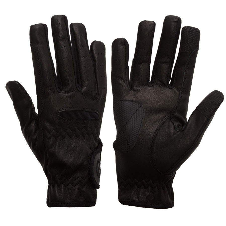 Gloves - eQuest Grip Pro Leather - Black