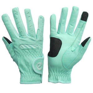 Gloves - eQuest Grip Pro Leather - Mint Green