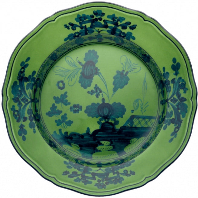 Couleur MALACHITE Assiette porcelaine Oriente Italiano GINORI 1735