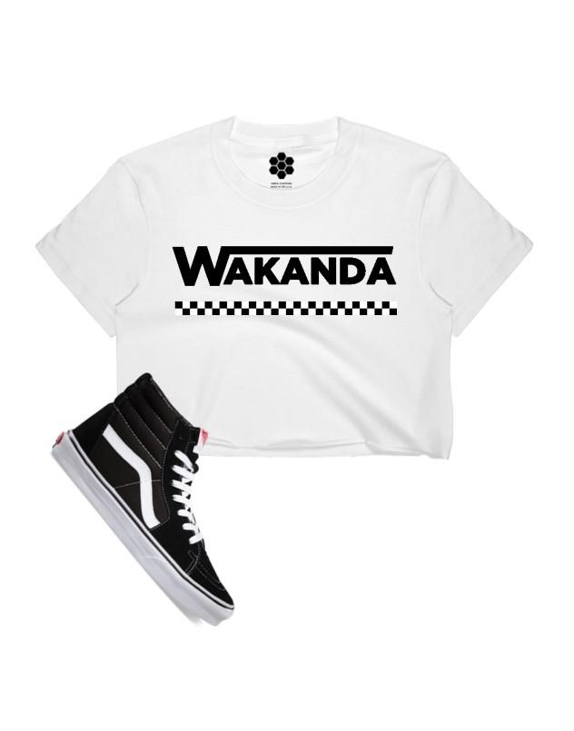 Off the Wall Crop Top-TANKS-WakandaForever