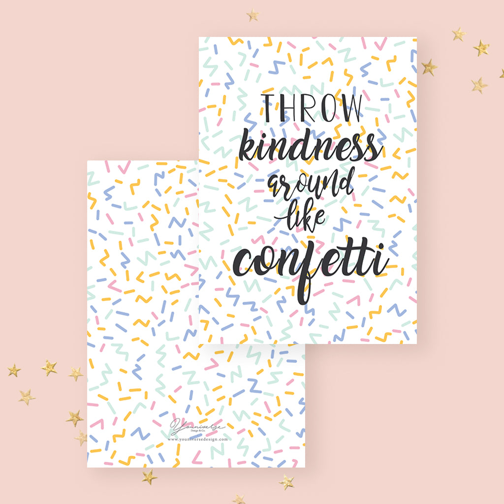 Confetti (Greeting Card)