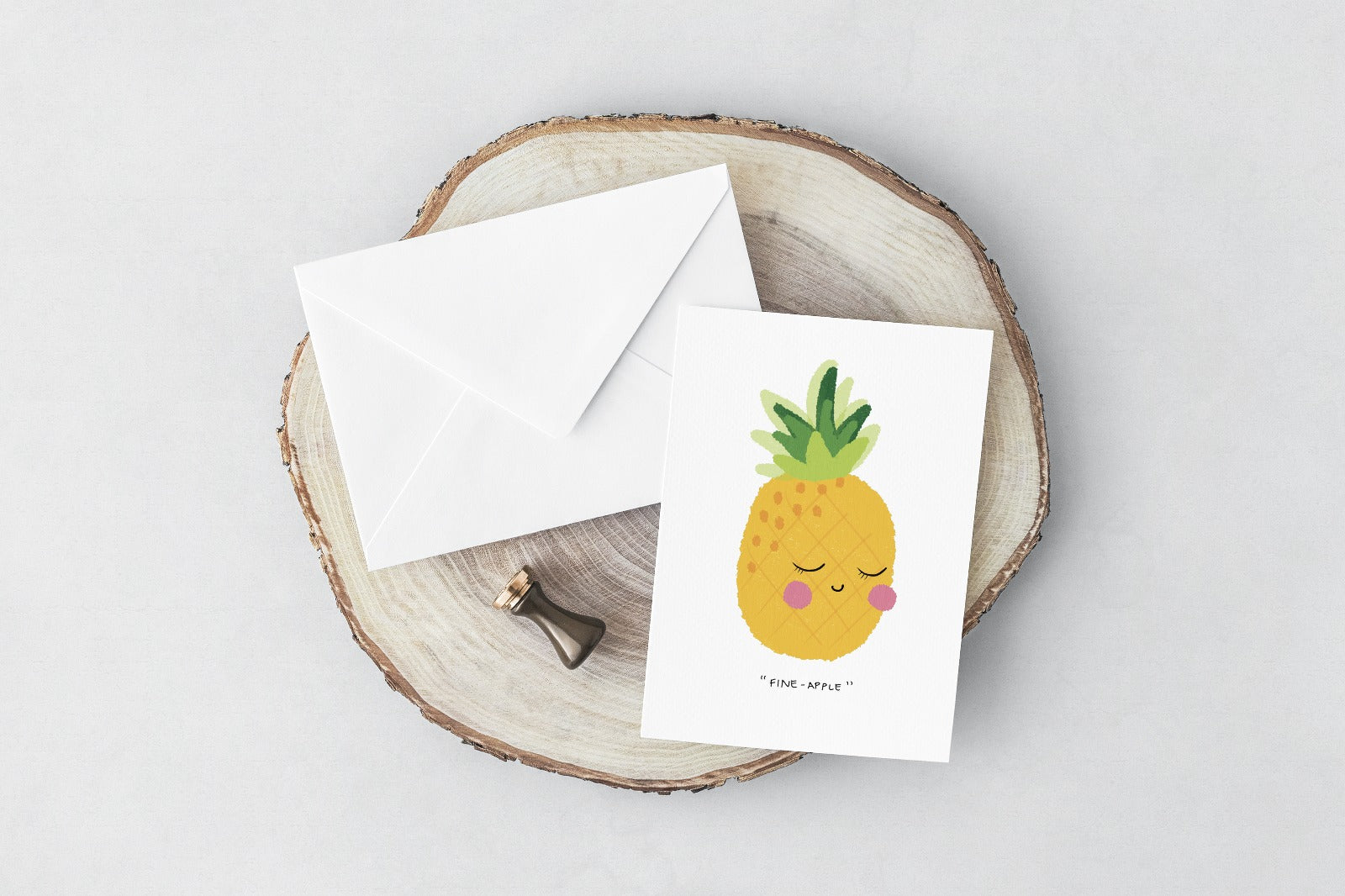 Fineapple (Greeting Card)