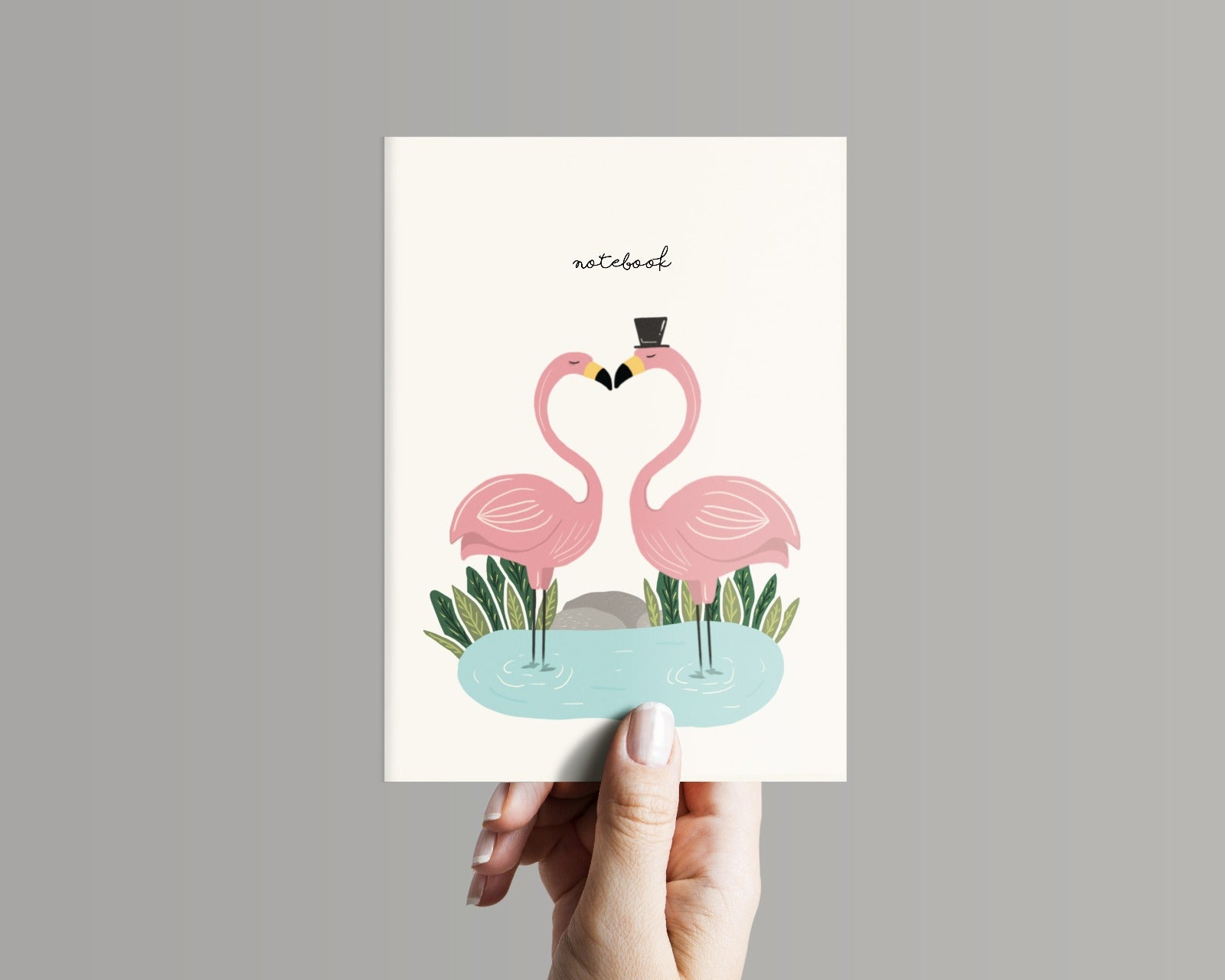 Flamingo Love (Notebook)
