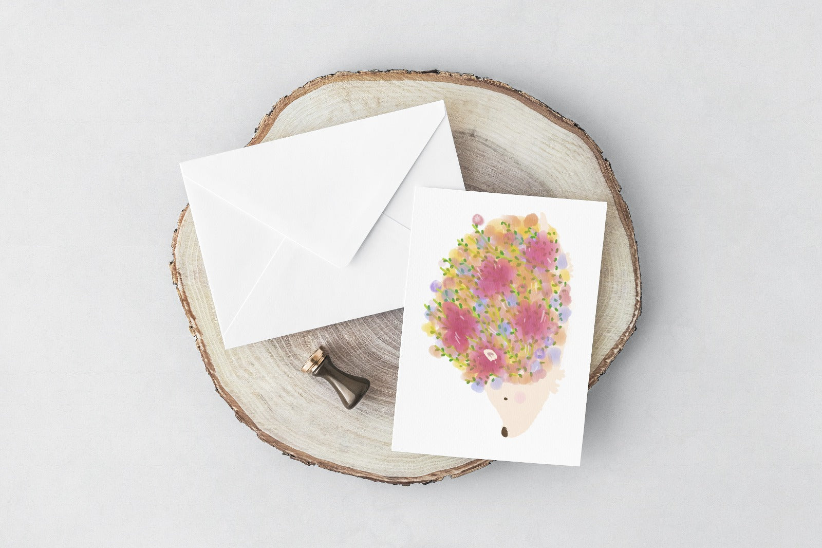 Hedgehog (Greeting Card)