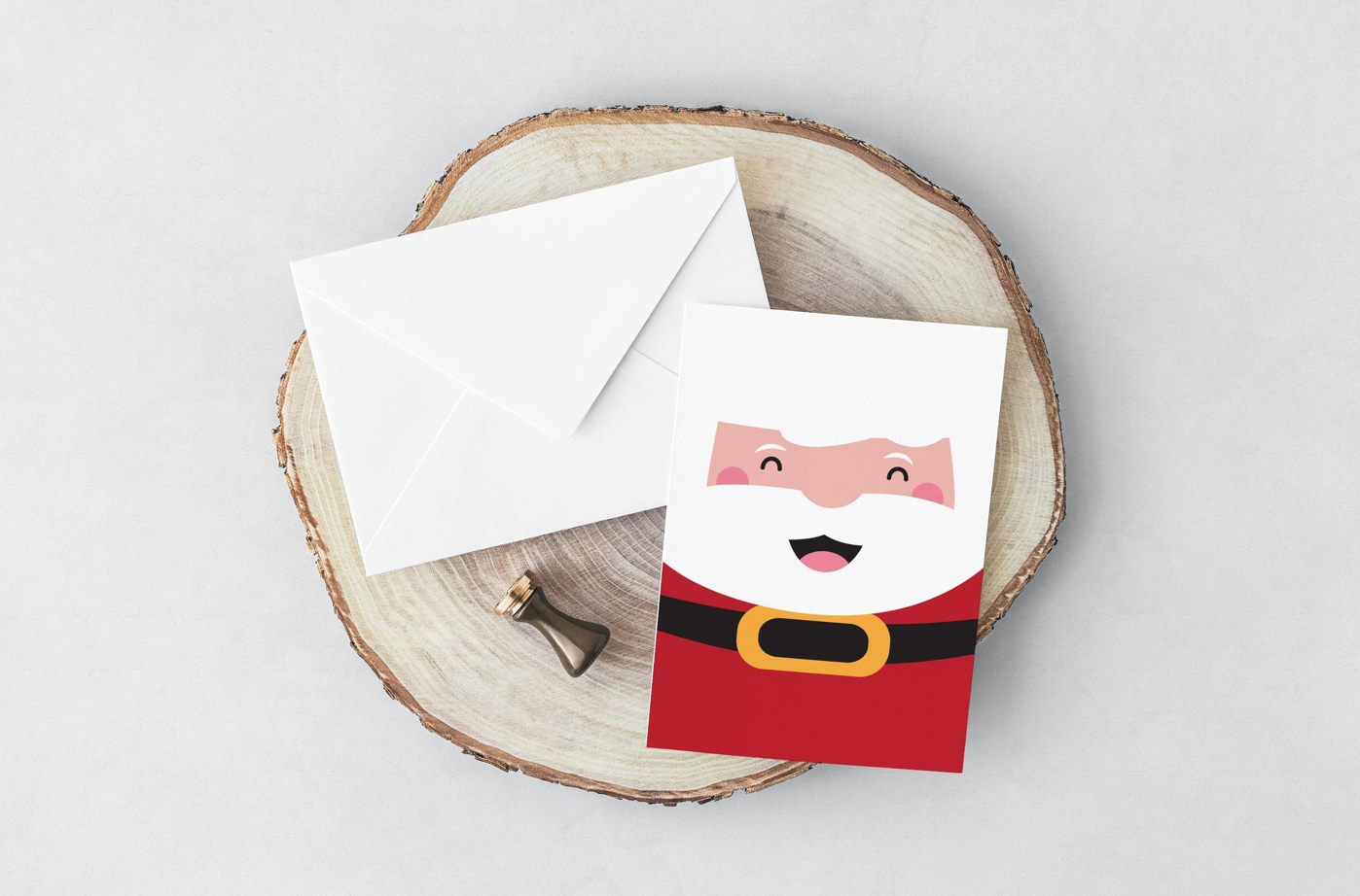 Santa Card (Greeting Card, Xmas Special)