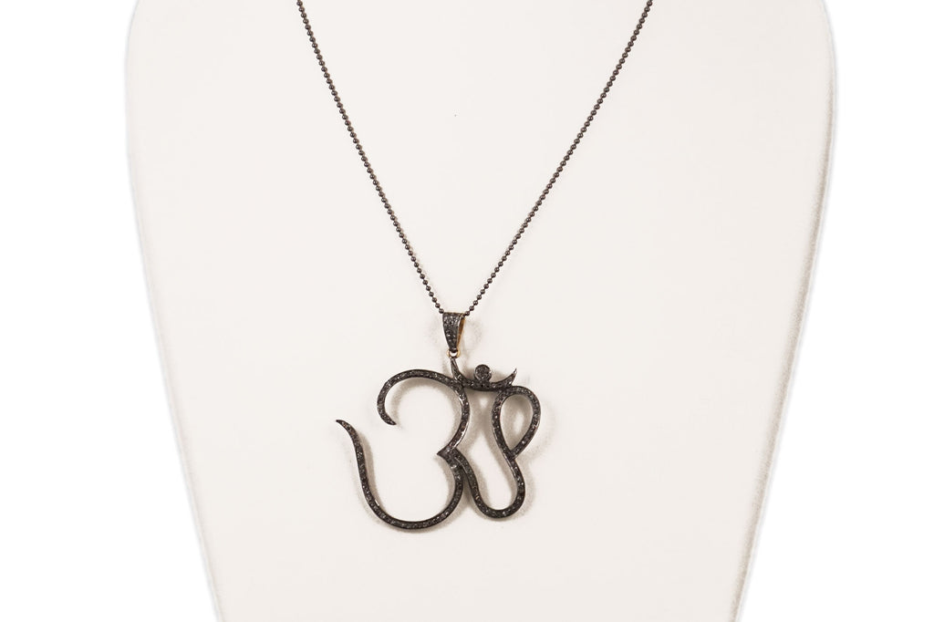 Necklace with Ex-Large OM Charm