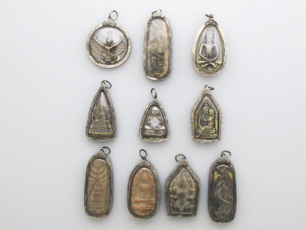 Antique Amulets from Thailand