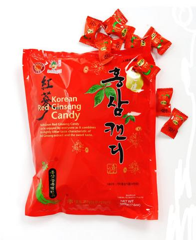 piniks.com KOREAN RED GINSENG SUGAR FREE CANDY