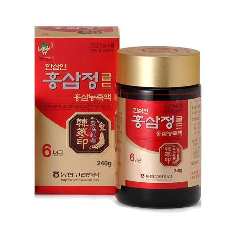 piniks.com Korean Red Ginseng Extract Gold 50 Grams