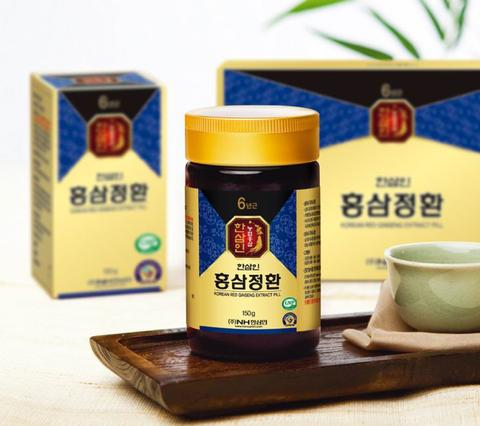 piniks.com KOREAN RED GINSENG EXTRACT PILL GOLD