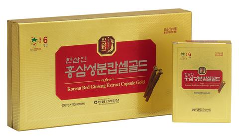 piniks.com KOREAN RED GINSENG CAPSULE GOLD