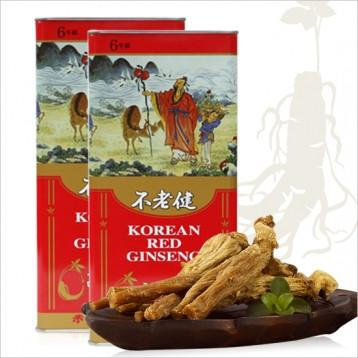 piniks.com KOREAN RED GINSENG ROOT (6YR 37.5G) LARGE SIZE ROOTS