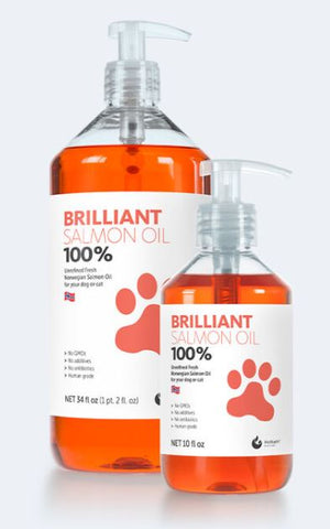 Best Salmon oil for dogs and cats