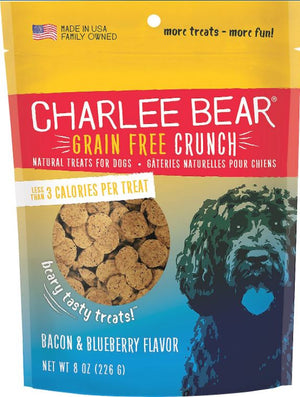 Charlee Bear grain free crunch dog treat