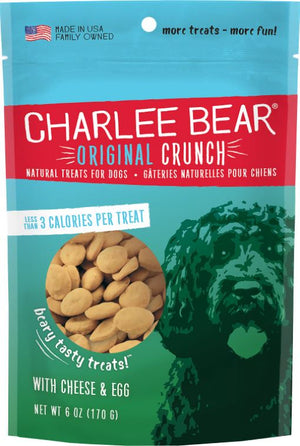 Charlee Bear cheese and egg treat