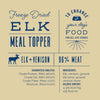 Elk Meal Topper