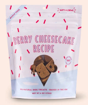 Bocce's Bakery Berry Cheesecake Recipe Soft & Chewy Dog Treats
