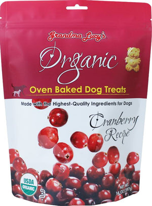 Organic crunchy dogs treats