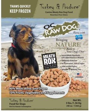 Raw Turkey Dog Food
