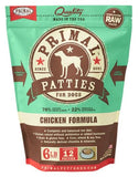 Primal Raw Frozen Canine Chicken Formula Patties Dog Food, 6-lb bag