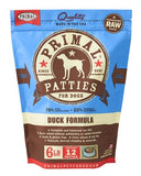Primal Raw Frozen Canine Duck Formula Patties Dog Food, 6-lb bag