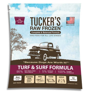 Raw Frozen Turf & Surf Dog Food