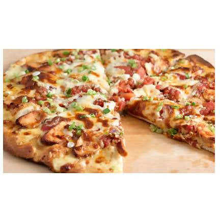 Chicken grill pizza