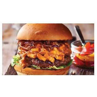 Cheese burger beef