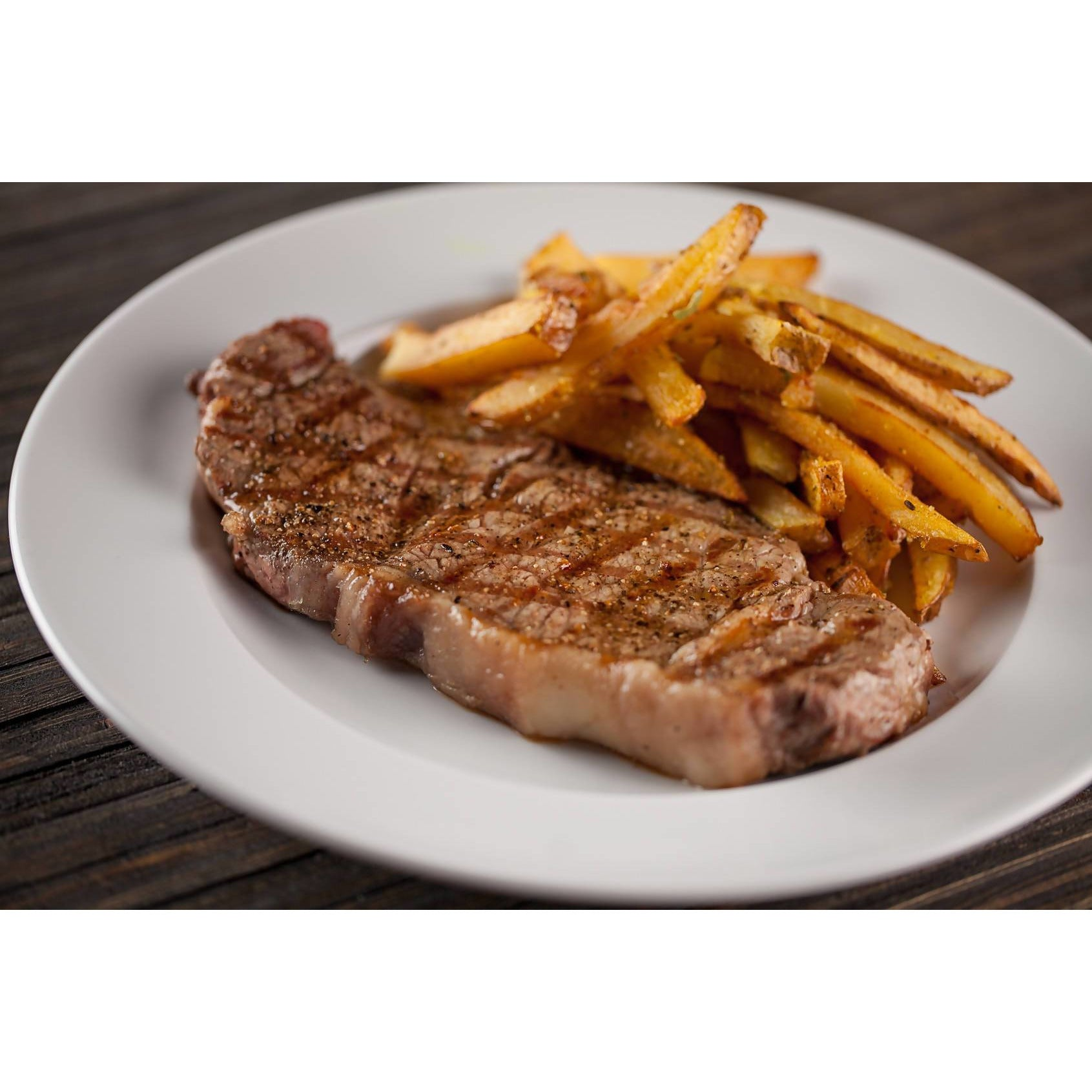 Steak avec frites