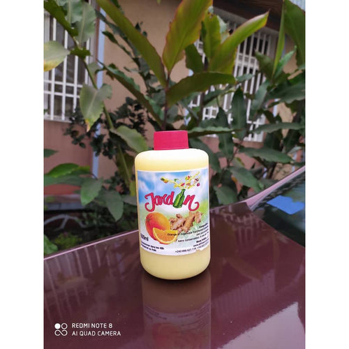 Jus Jardin Naturel Orange Et Gingembre 500ml