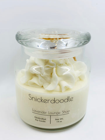 Snickerdoodle Dessert Candle (soy and beeswax blend)