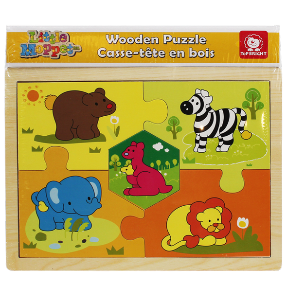 Little Moppet puzzle animaux