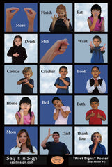 ASL First Signs Flash Cards
