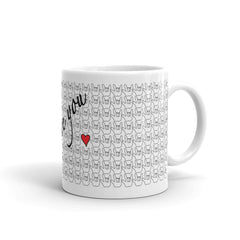 ASL I Love You Heart Mug