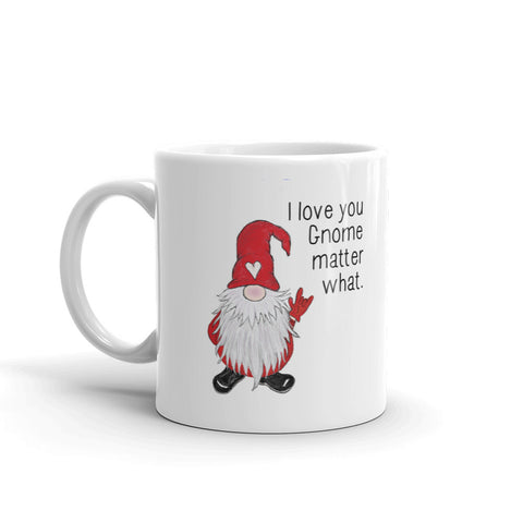 ASL Love Gnome Matter What Mug