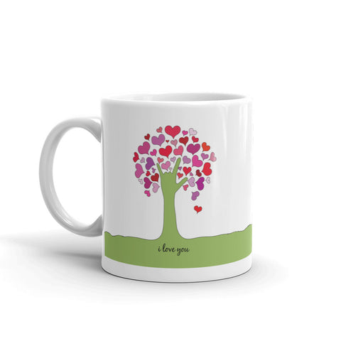 ASL I Love You tree Mug