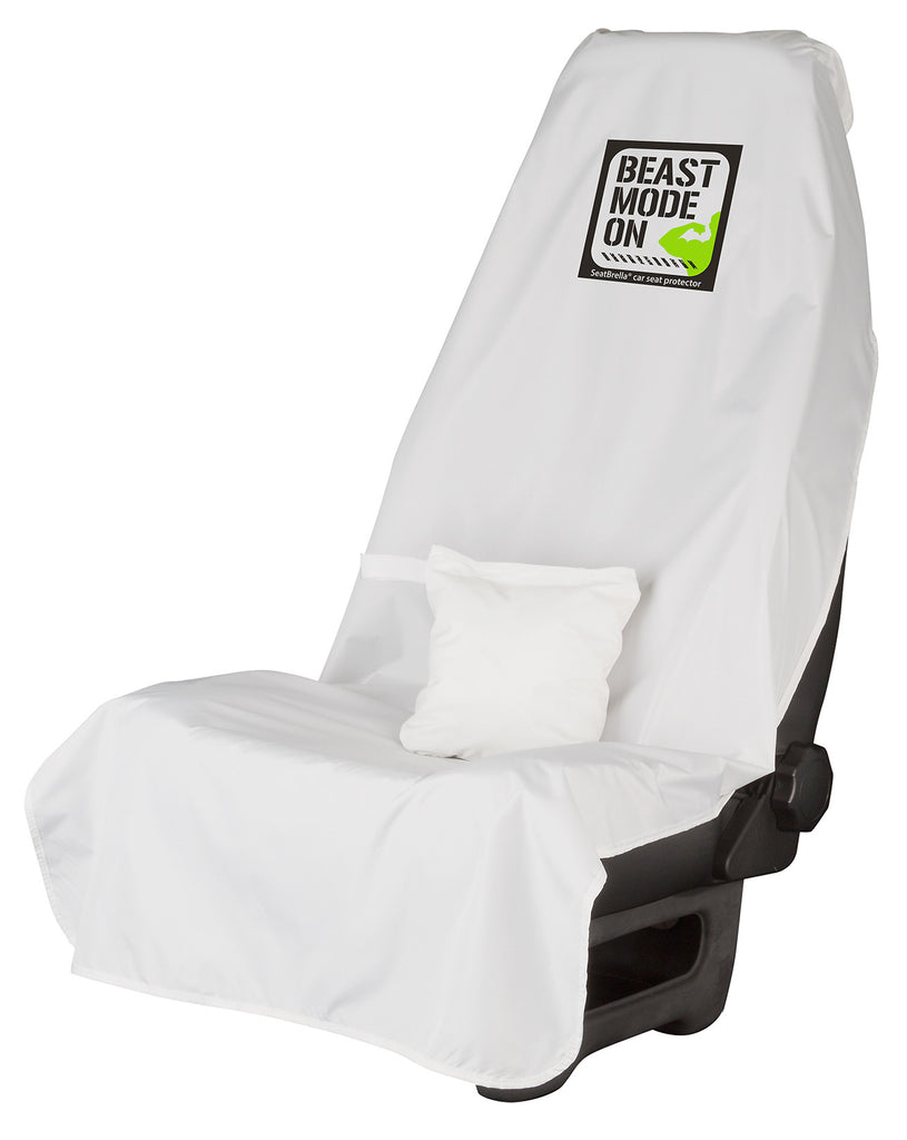Beast Mode... SeatBrella® car seat protector