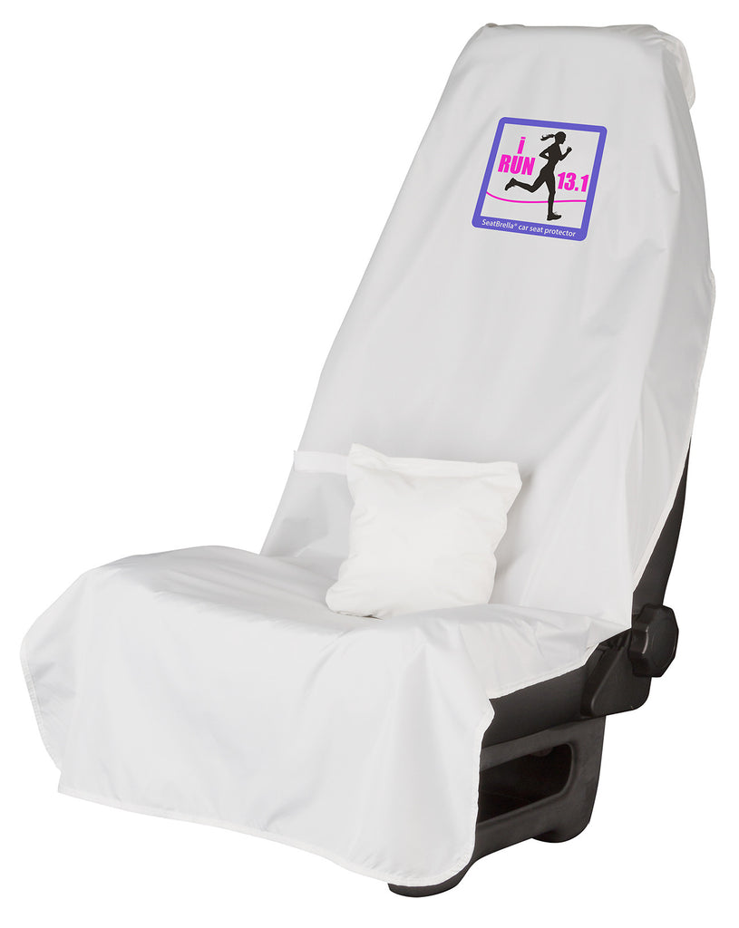i Run 13.1 (Female)... SeatBrella® car seat protector