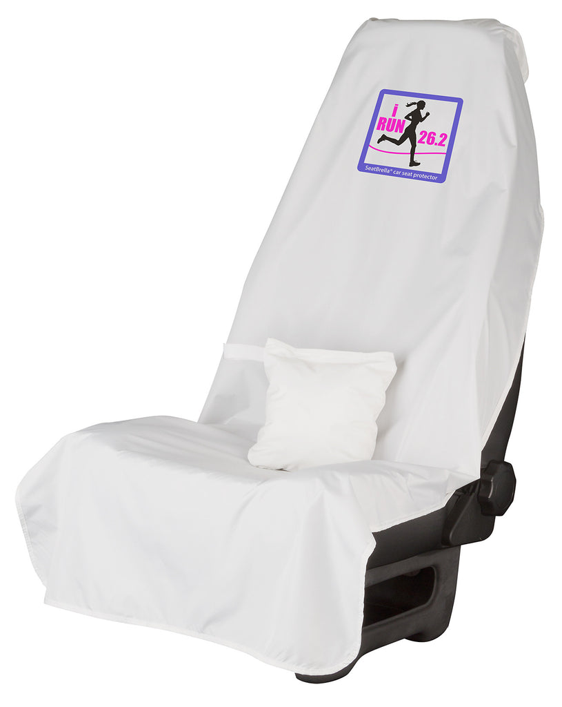 i Run 26.2 (Female)... SeatBrella® car seat protector