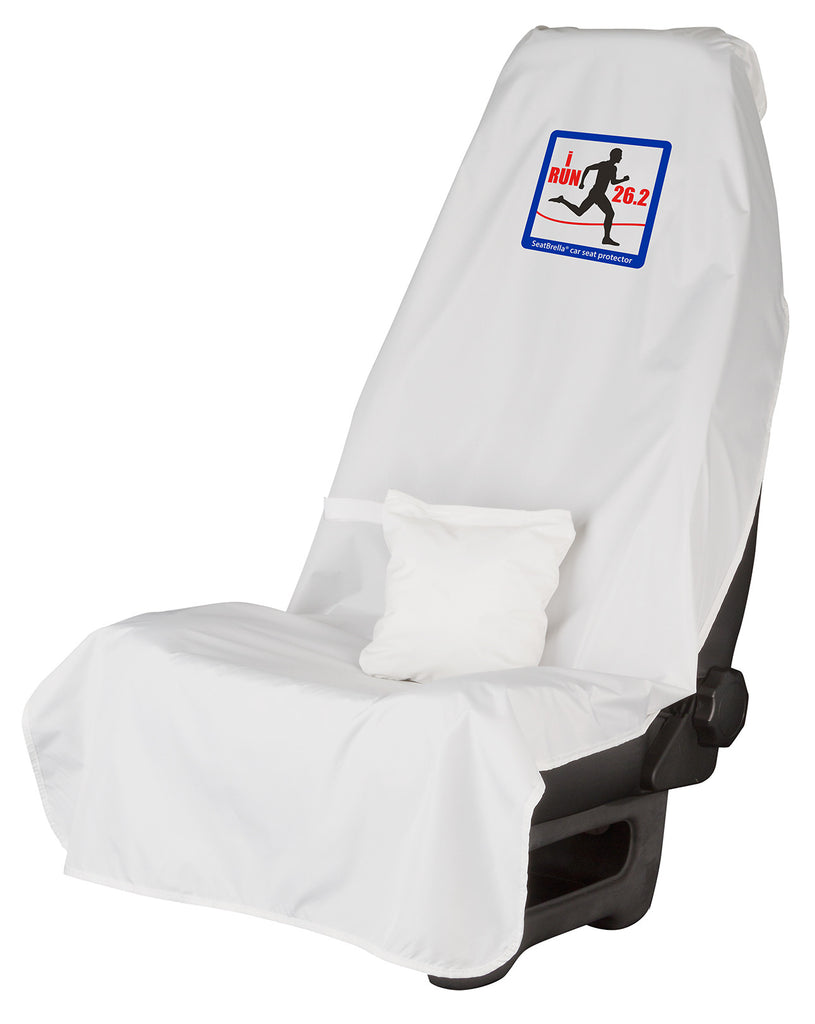 i Run 26.2 (Male)... SeatBrella® car seat protector