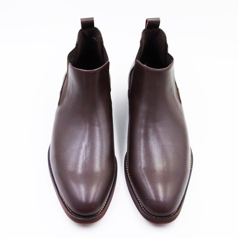 Ms. Gullar Short Qelsey-Vegetarian Leather Shoes