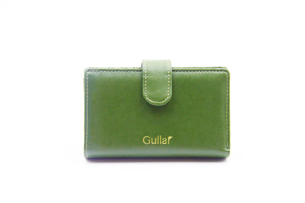 Gullar cactus short clip-pure vegetable leather bag