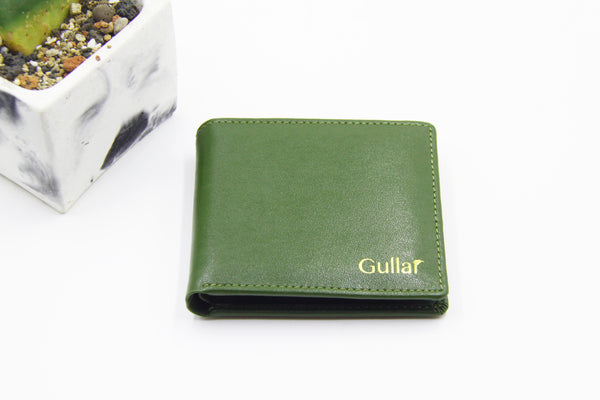 Gullar Cactus Unisex Wallet-Pure Vegetable Leather Bag